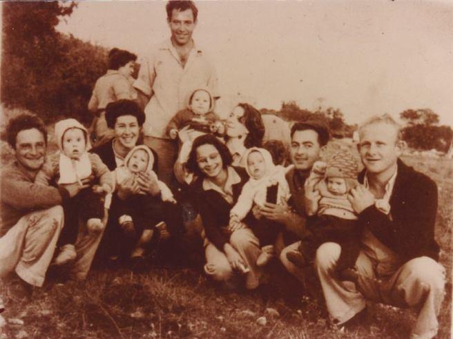 הילדים הראשונים של הקיבוץ