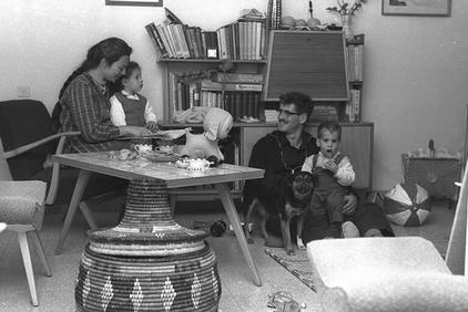 משפחת לבני, 1962.