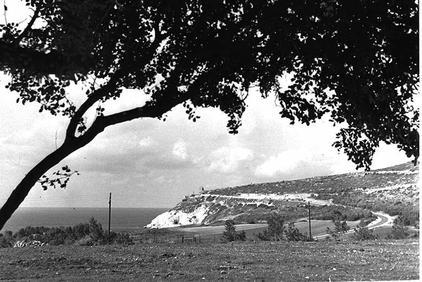 נוף למצפה, 1972.