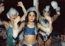1990 ערב קצף וקצפת בבריכה