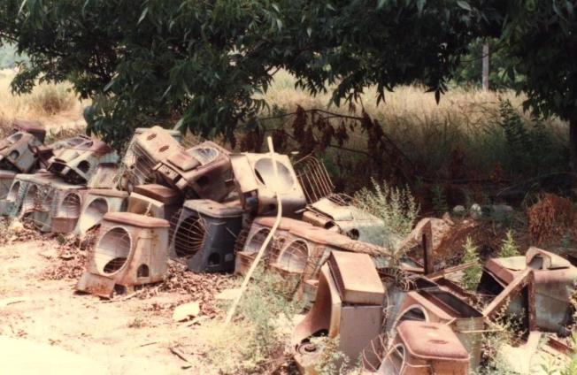 """תנורי הפיירסייד 1987. צילם עופר דר ז""""ל"""