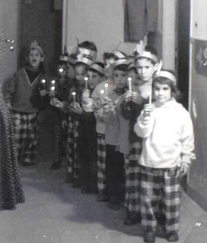 חנוכה בגן 1960. מאלבומו של דובון.