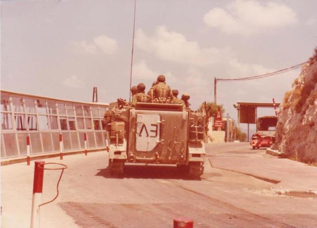 שלום הגליל 7 ליוני 1982