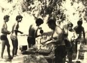 יום ירוק 1975 החברים בכנרת