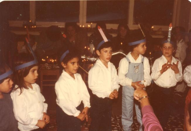 חנוכה בגן 1983