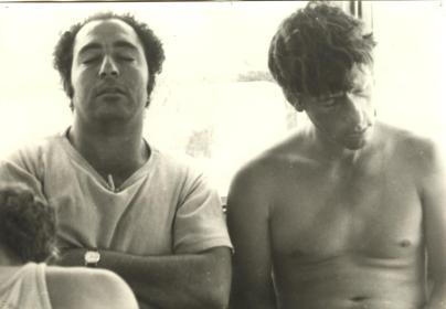 """אלכס ליבן ודלומי 1977 טיול משק לסיני צילם וולול ז""""ל"""